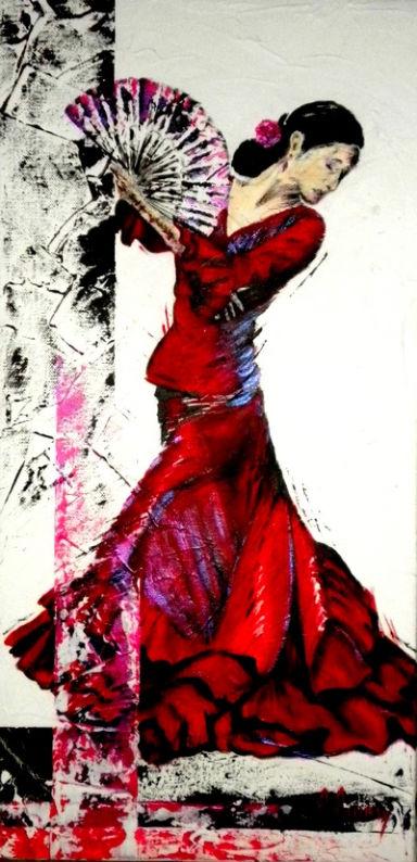 Danse - Danseuse flamenco dessin ...